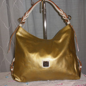 Dooney & Bourke Extra Large Mambo Metallic Sac